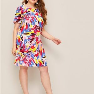 Multi Colored Spring/Summer Dress